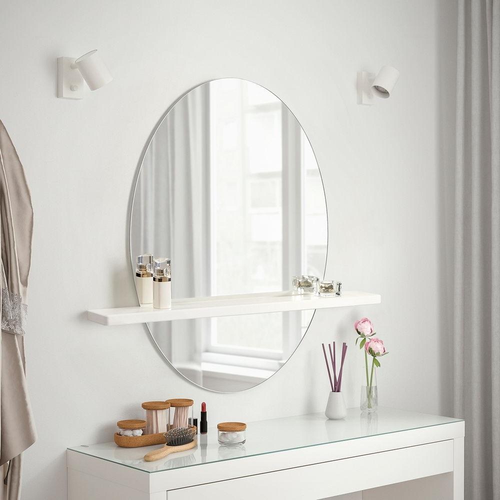 Grand Miroir Avec Etagere Kokstad –