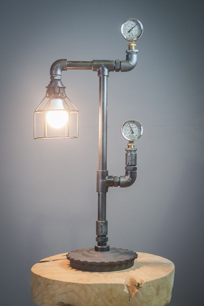 Lampe Industrielle A Poser Mano