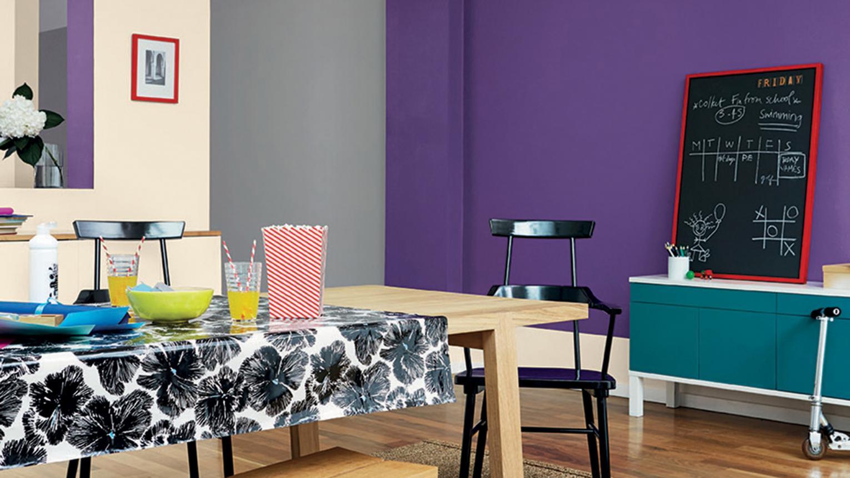 violet Et Turquoise