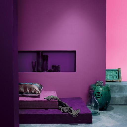 Violet Et Vert
