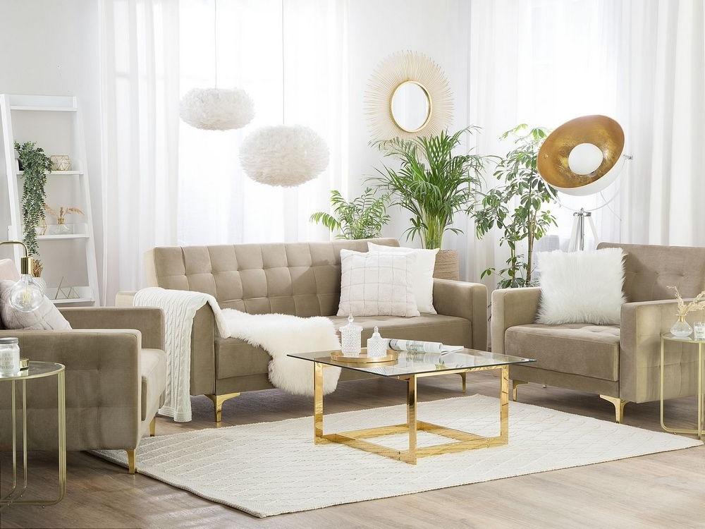 Salon Blanc Et Beige Ambiance Glamour –