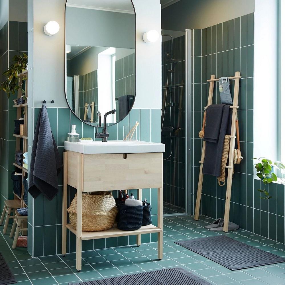 Grand Miroir Ovale Lindbyn