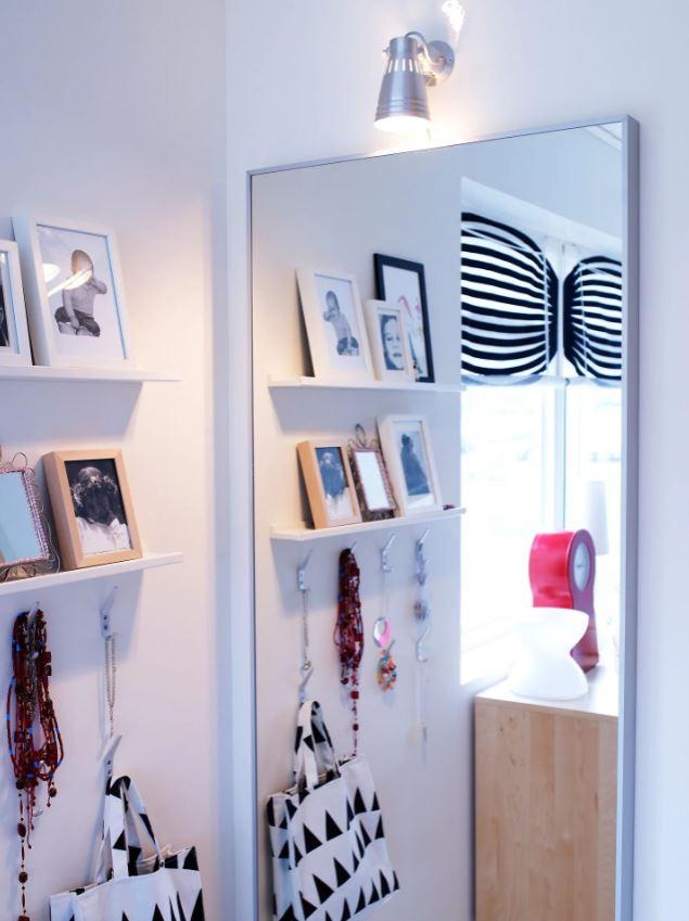 Grand Miroir Aluminium Hovet