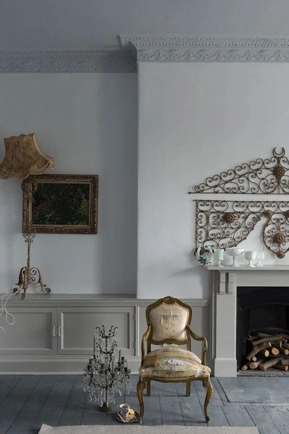 Un Interieur Baroque Lumineux