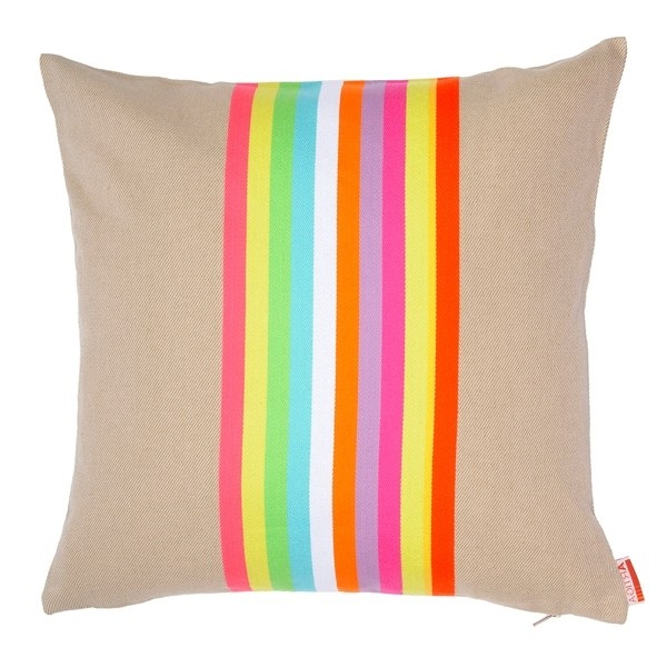 Coussin Raye Fluo