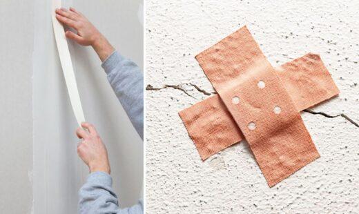 Réparer Fissure Mur