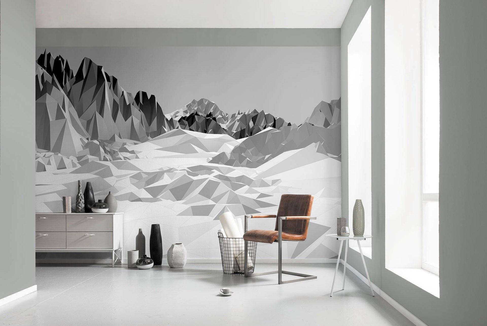 Icefield Blanc Et Gris