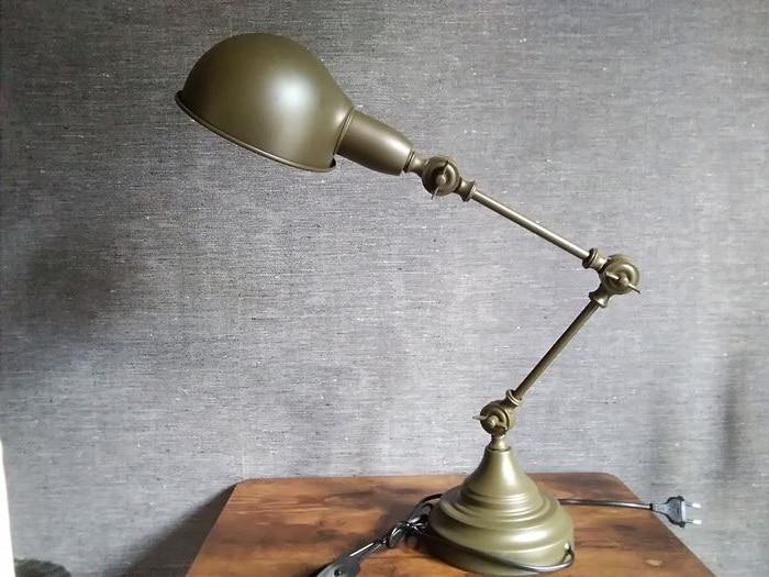 Lampe Industrielle Kaki