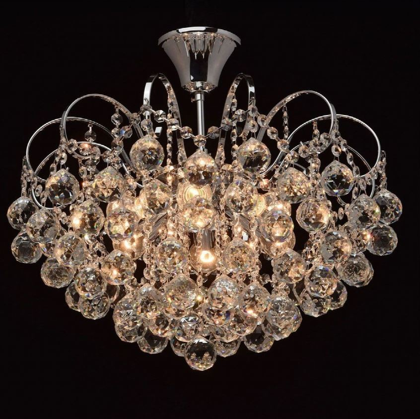 Lustre Amareins Collection Crystal Argent