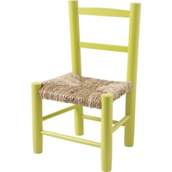 Chaise Enfant Vert Anis