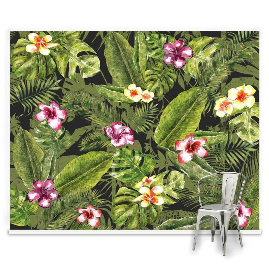 Papier Pein Panoramique Jungle Lumineux