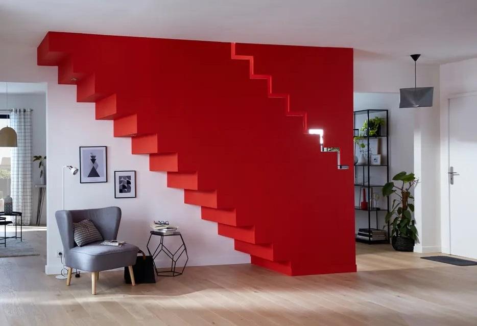 Escalier Peint Piece Forte