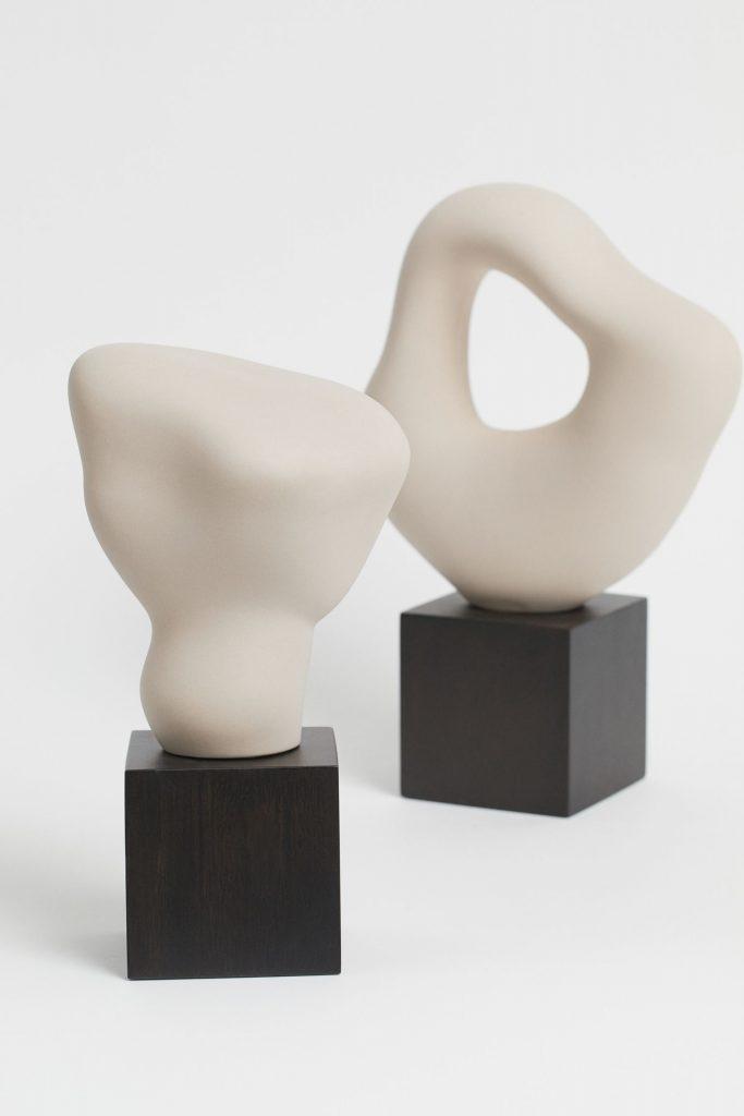 Sculpture En Gres Ou Resine