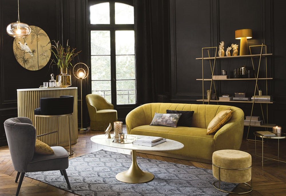 Laiton Neo Art Deco