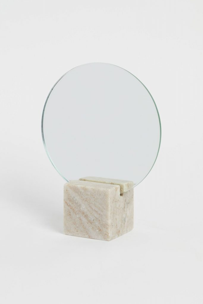Miroir Rond Avec Base
