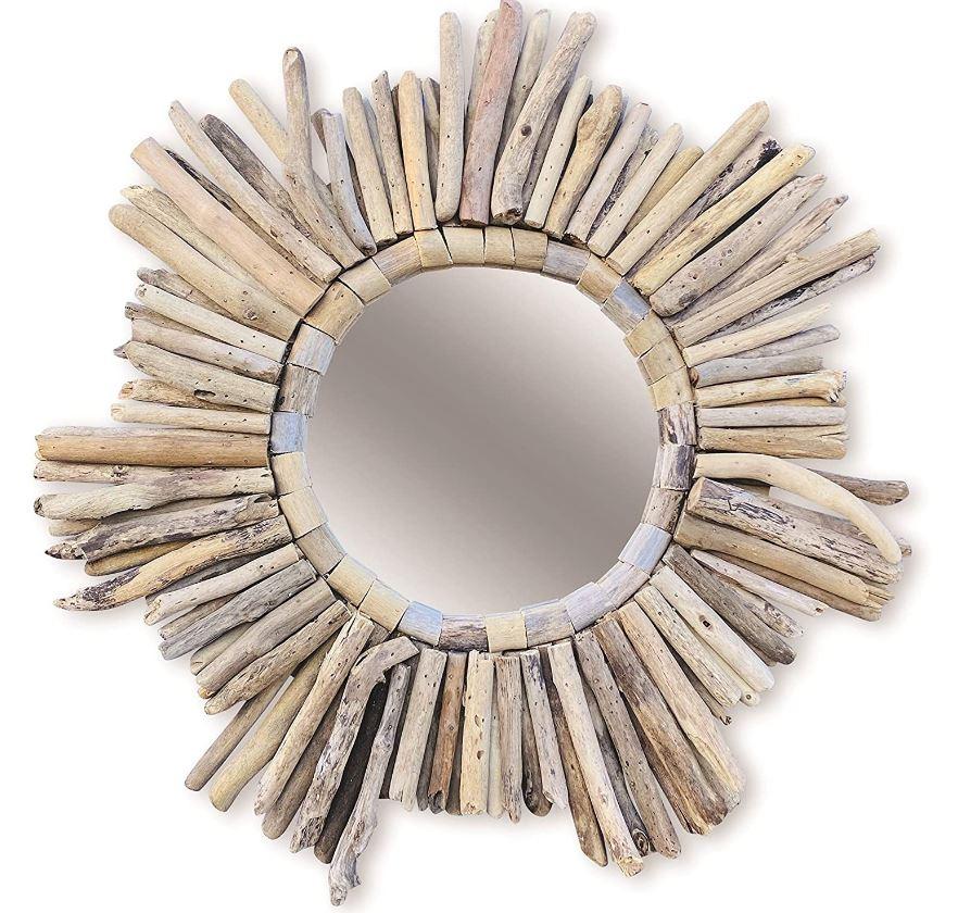 Miroir Esprit Ethnique 60 Cm