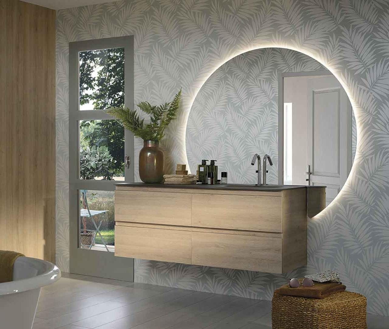 Miroir Rond Xxl Asymetrique –