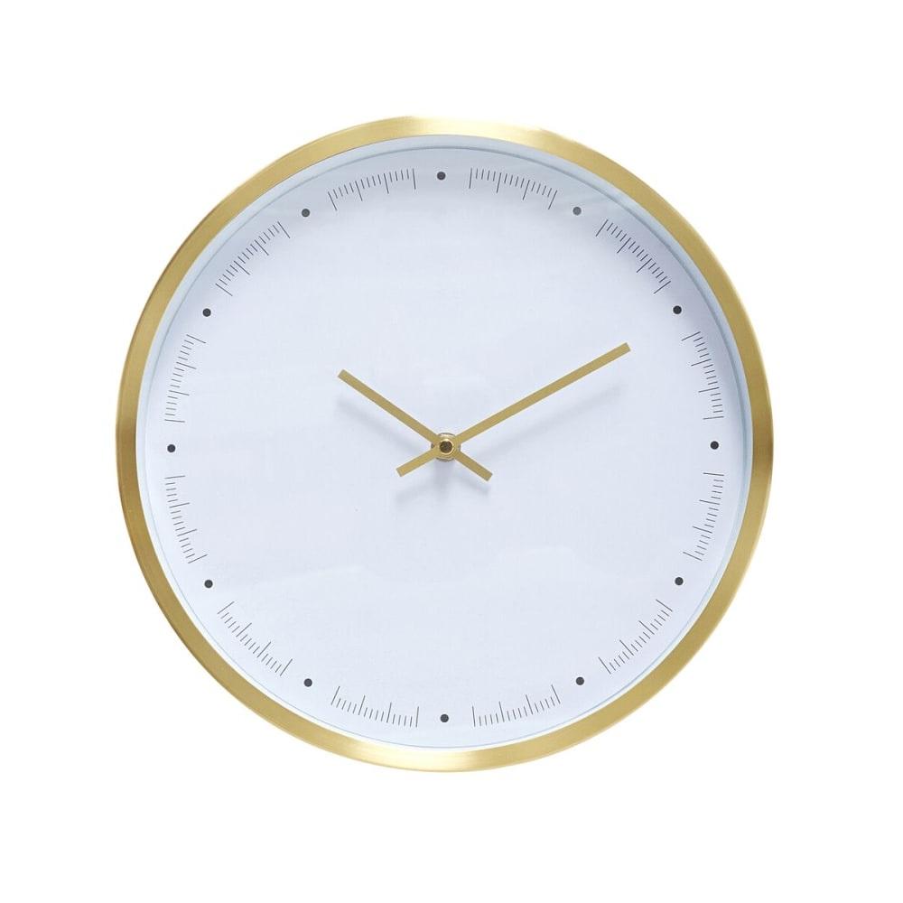 Horloge Minimaliste En Laiton