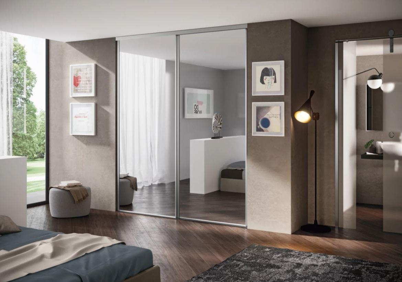 Porte Avec Miroir Pour Agrandir L'espace