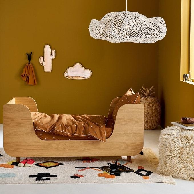 Cadres Laiton Dans La Chambre De Bebe
