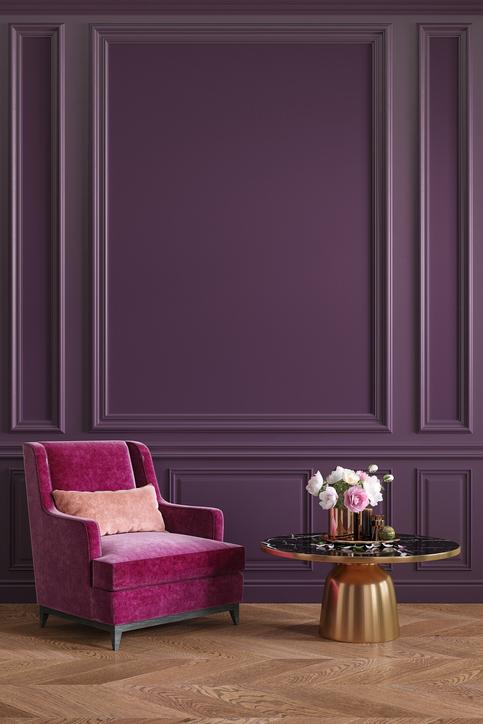 Framboise, Violet Et Or