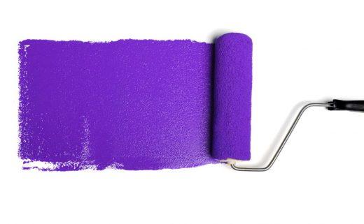 Peinture Violet
