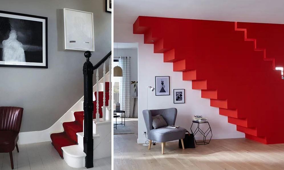 Repeindre Escalier