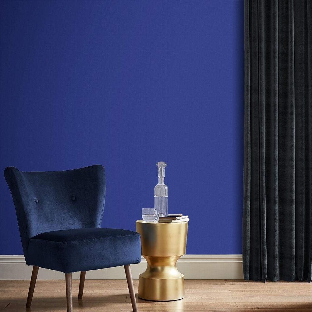 Bleu Profond Et Or