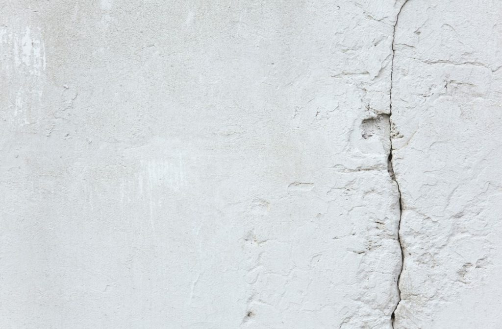 Fissure Enduit Mur Extérieur
