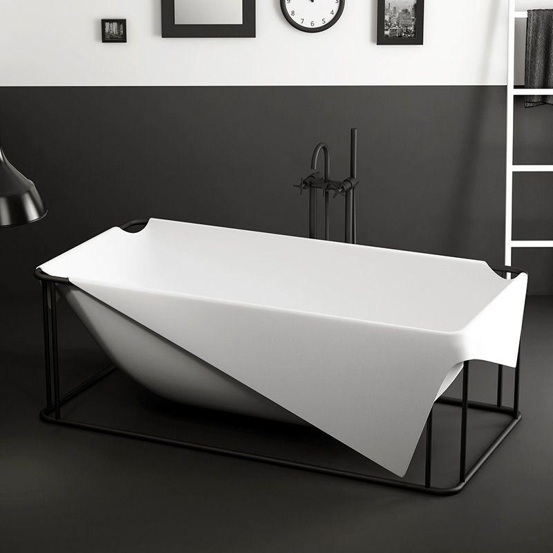 Baignoire Design Mat