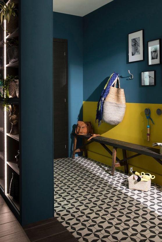 Bleu Canard Et Jaune Moutarde Complementaire