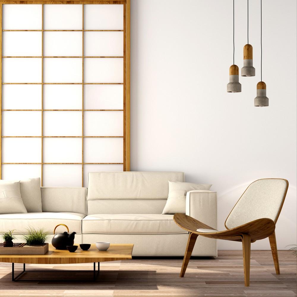 Un Interieur Zen Ecru Et Bois