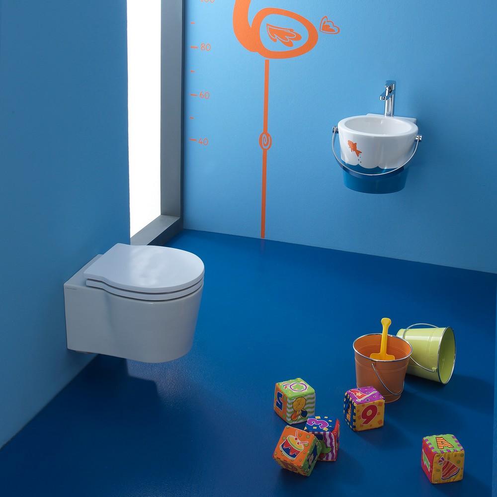 Vasque Et Toilettes Miniatures