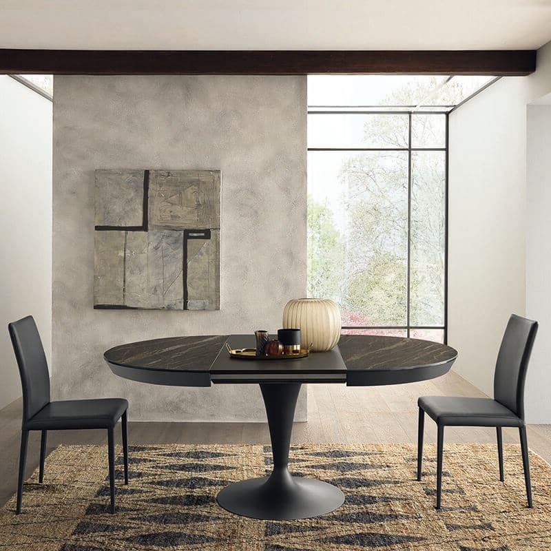 Table Tulipe En Ceramique Extensible Sun