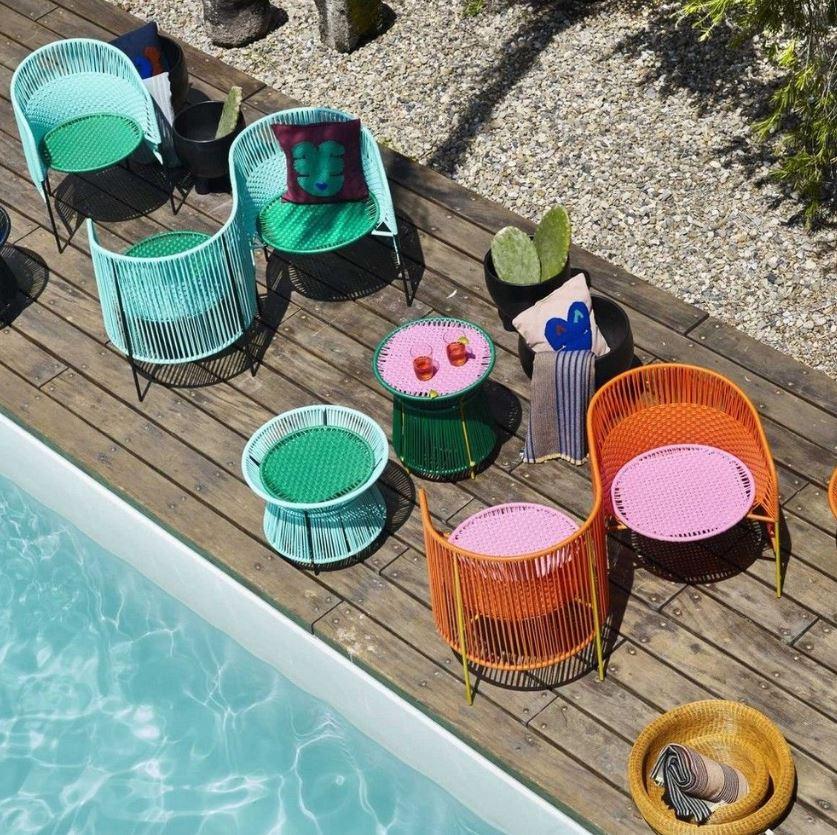 Table Et Vis A Vis Esprit Caraibe