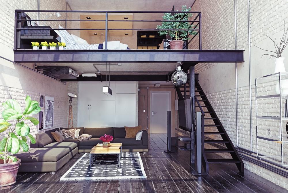 Un Escalier Sans Contremarche Pour Une Mezzanine Ipn Factory