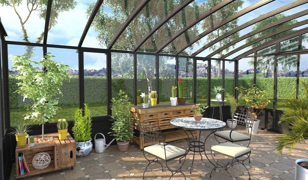 Veranda Jardin D'hiver