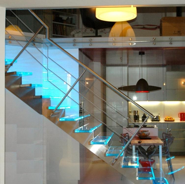 Escalier Avec Eclairage Led