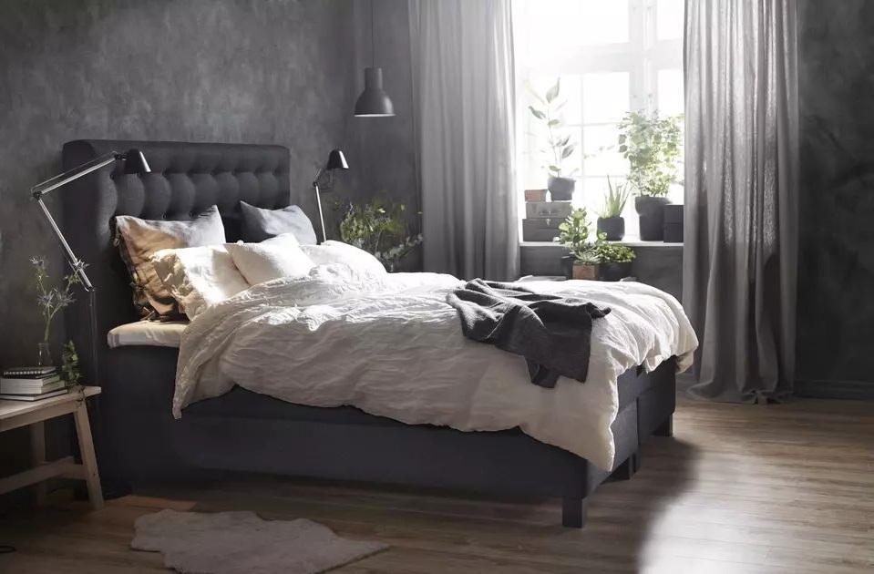 Chambre Cocooning En Noir