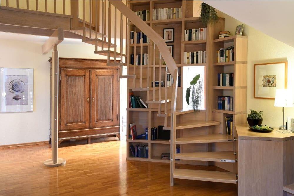 Escalier Avec Bibliotheque