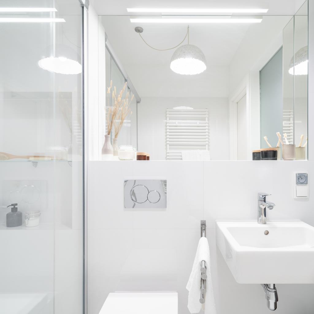 Blanc Et Miroir