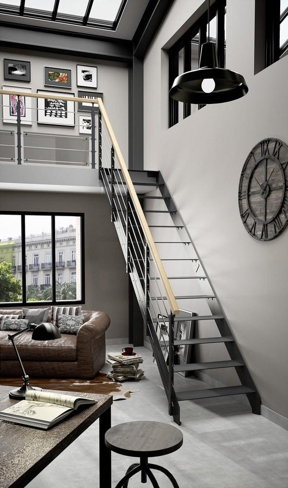 Un Escalier Qui Laisse Circuler Le Regard