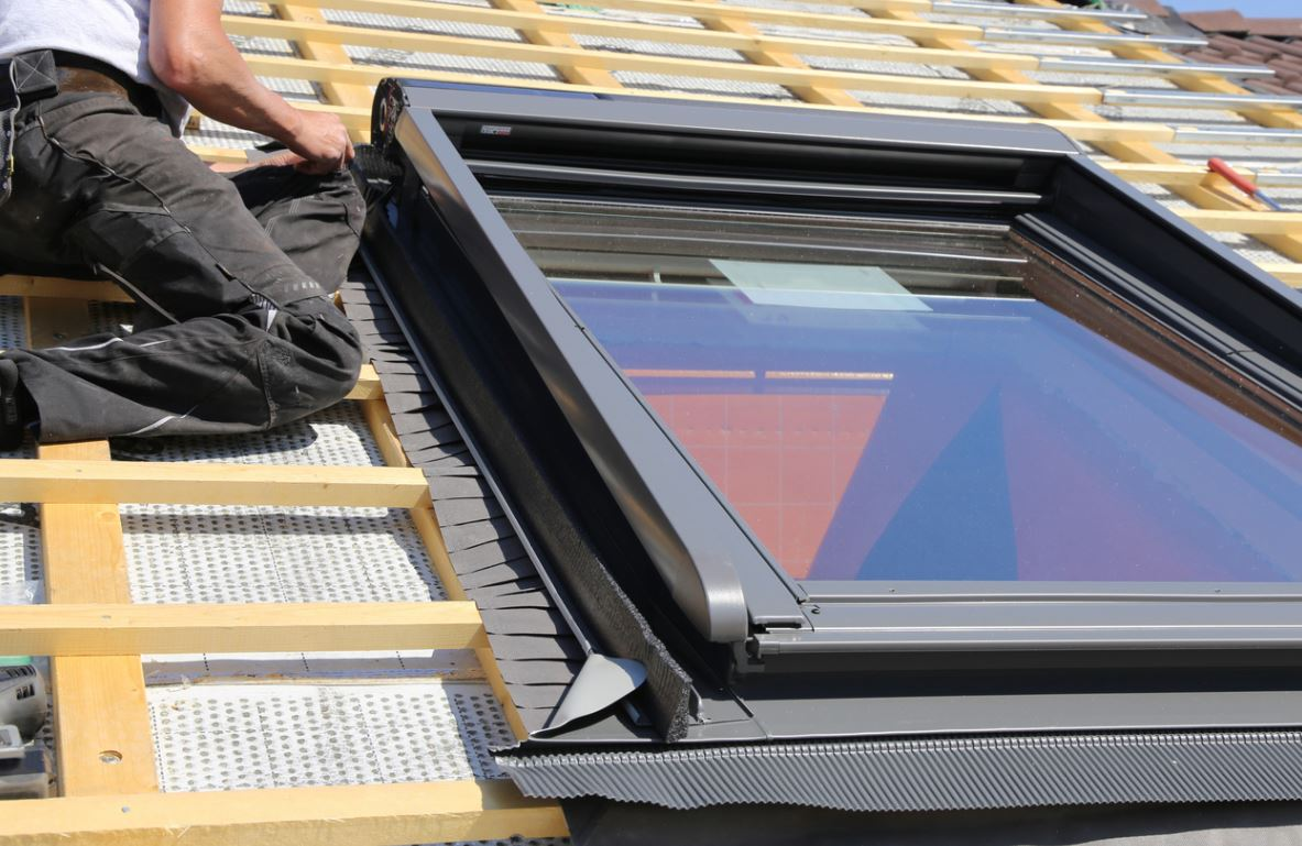 Installation Fenêtre Sur Le Toit