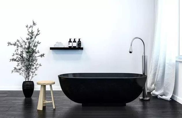 Une Salle De Bain Zen En Noir