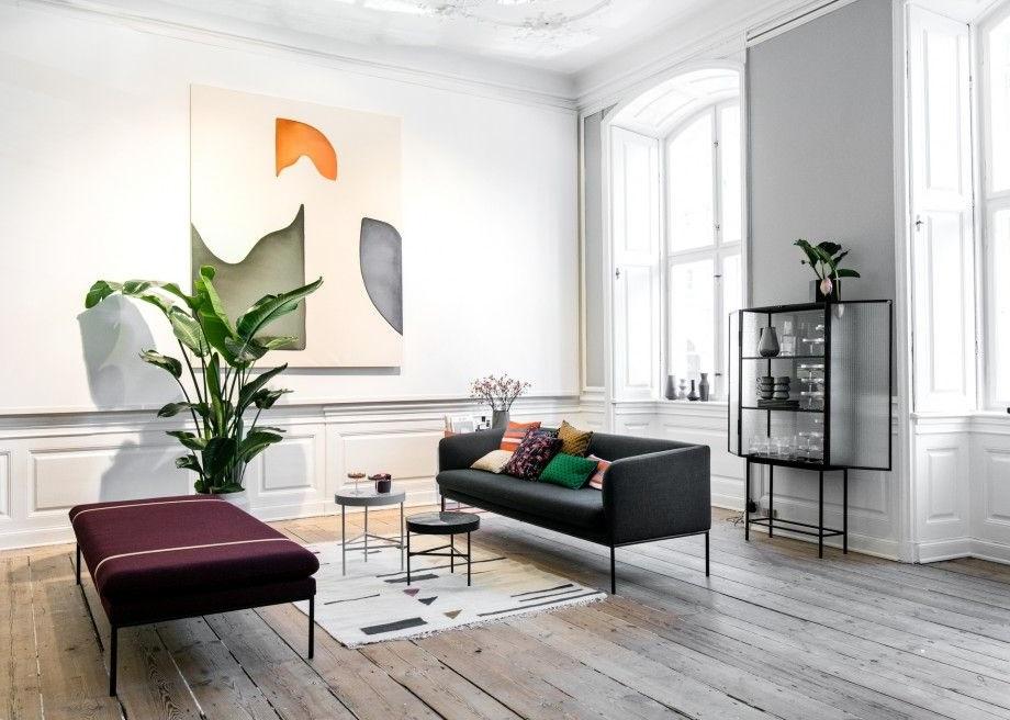 Peinture Et Plante Grand Format