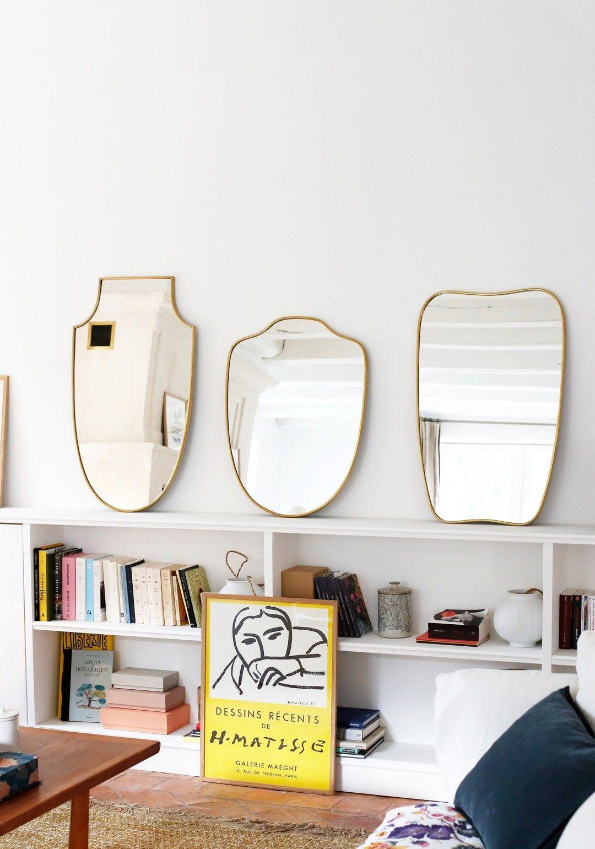 Des Miroirs Poses