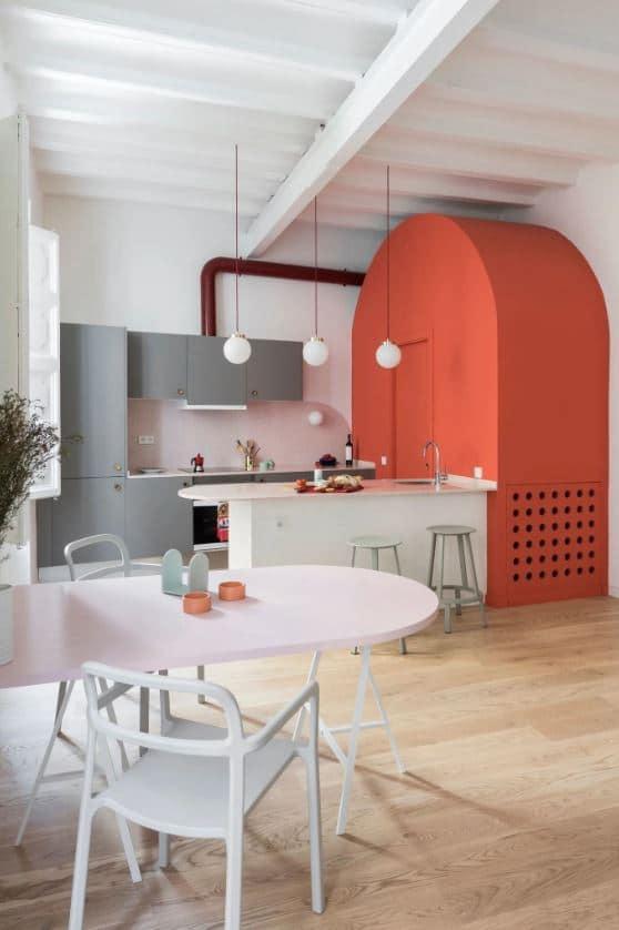 Une Cuisine Industrielle Esprit Art Deco