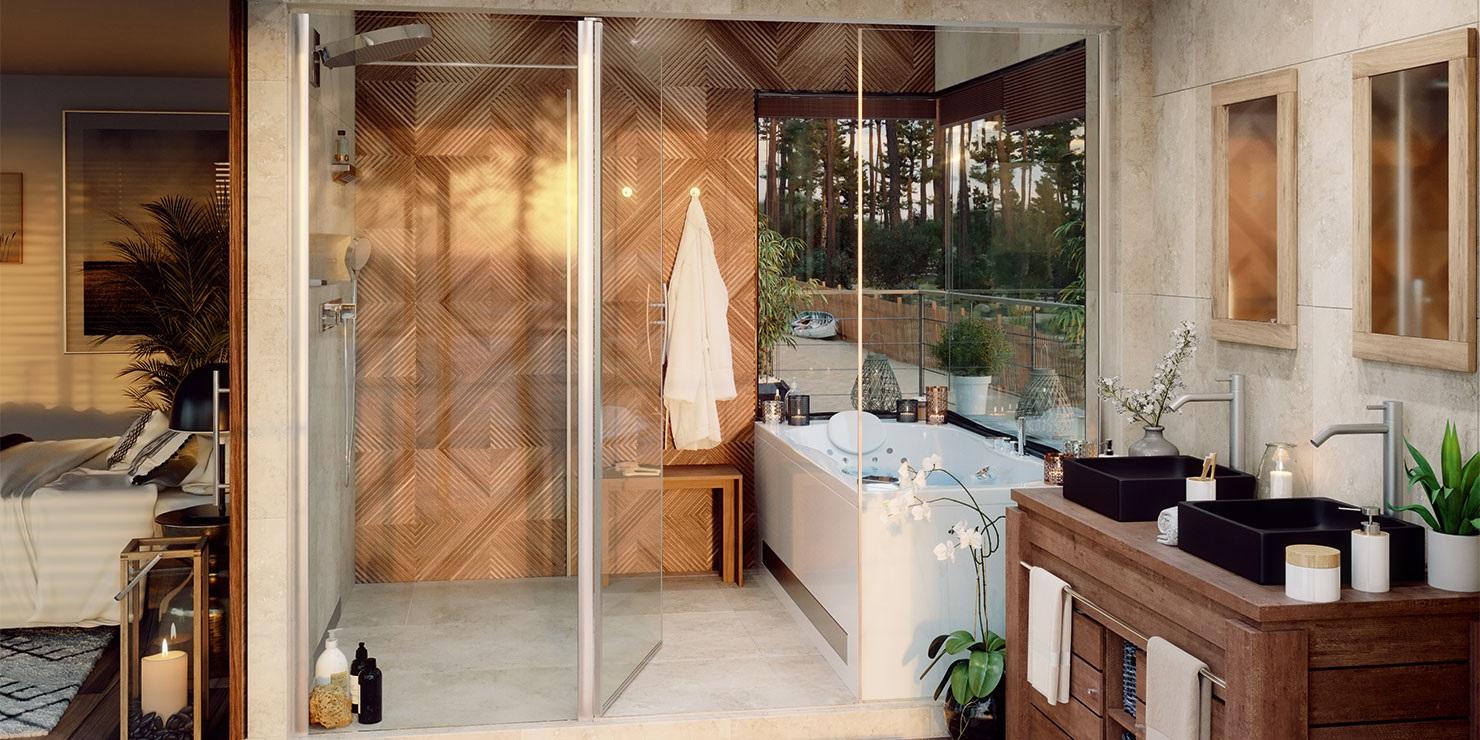Une Salle De Bain Exotique Façon Hotel –
