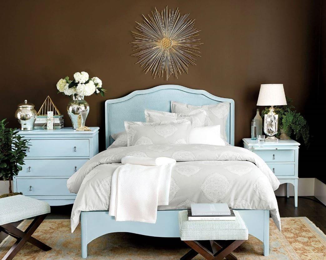 Un Bleu Pastel Romantique Chic