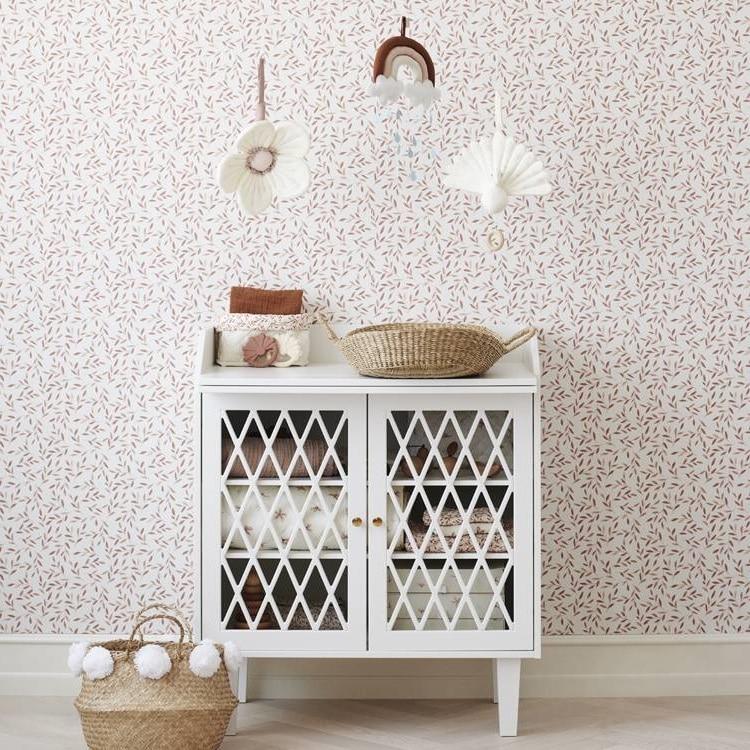 Une Chambre Bebe Terracotta Et Blanc